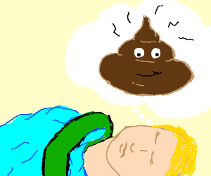 Someone dreams about... Poo?