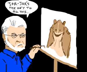 George Lucas is a painter now