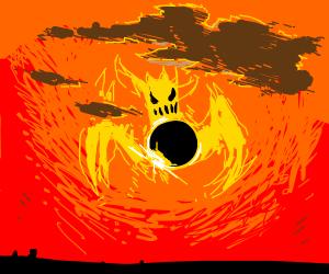 The Solar Eclipse Demon