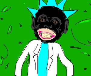 Rick loves monkeys