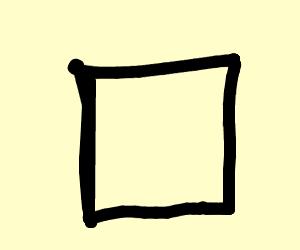 A triangle.
