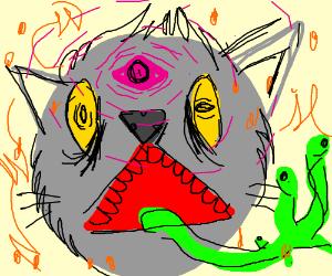 demon cat thing
