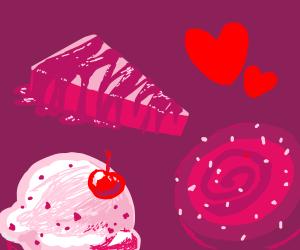 Various Sweet Treats