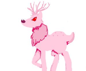 angry deer