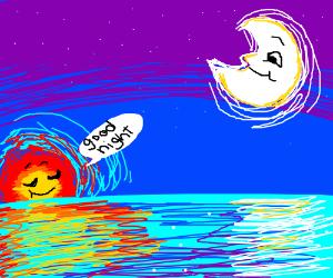 Good night, moonlight