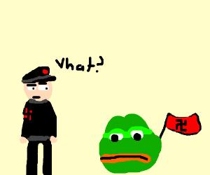 German natzi is confused