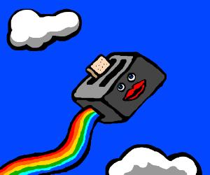 Female Flying Toaster