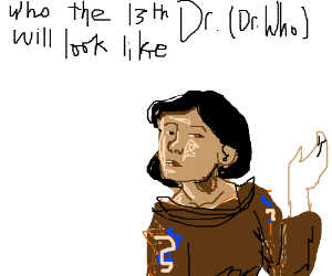 who the 13th doctor(doctor who) will look like