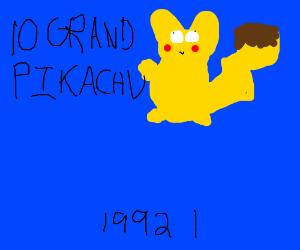 10 GRAND PIKACHU