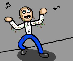 Dirty dancing taken literally