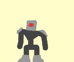 Armoured robohumanoid