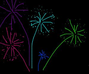 Colorfull Firework