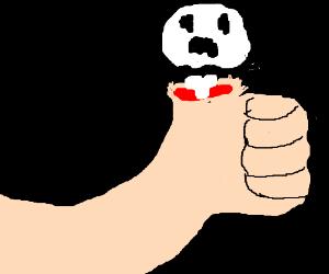 Thumb ghost