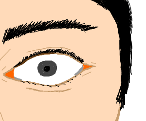 Semi Realistic Eye With Grey Iris Drawing By Fransauce8 Drawception