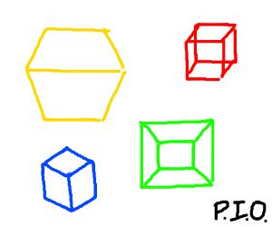 K.O PIO cube