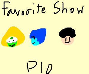 Favorite show PIO (Rick and Morty)