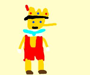 Royal asian Pinocchio