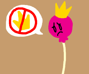 Princess Lollipop sad she won't rule Kingdom