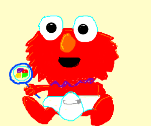 Baby Elmo Or Calling Someone A