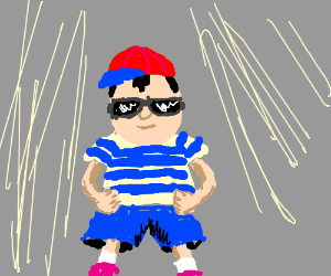 Ness is the Best! (Woah! So cool!)
