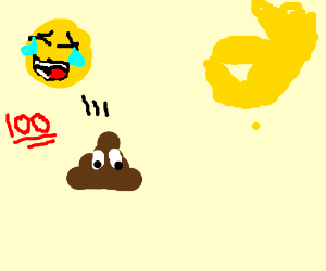 Pee Emoji Drawception
