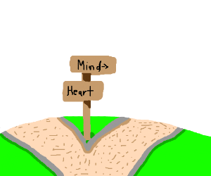 Follow your mind or your heart