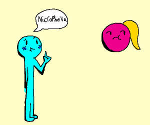 Man informs Woman of Necrophelia