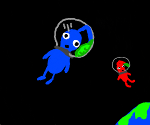 Pikmin in space