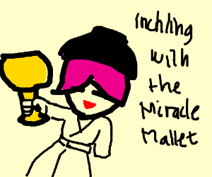 Inchling With the Miracle Mallet