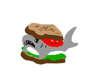 SLT (shark lettuce tomato)