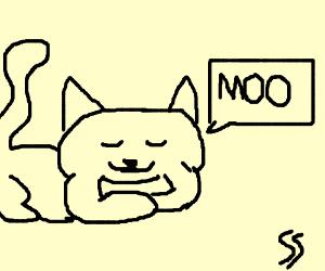 meow meow I'm a cow