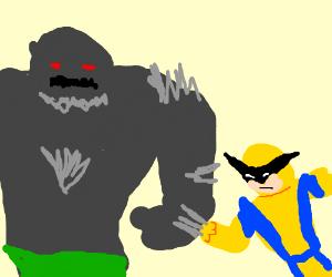 Doomsday vs Wolverine