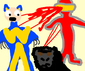 Gorilla is sad the X-Men are after it