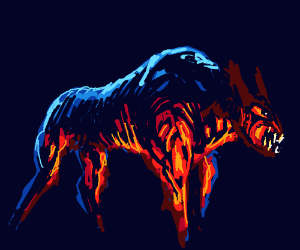 Firebreatingdog(wish i could drw wth ths theme