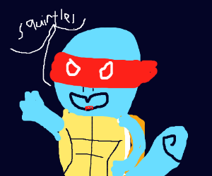 Teenage Mutant Ninja Squirtle