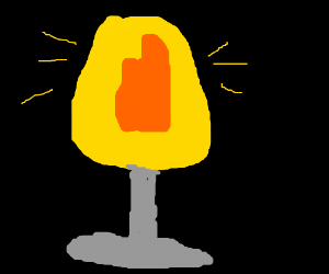 tinder lamp