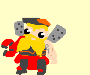chibi torbjorn overwatch drawing by dankmemery420 drawception