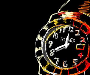 Detailed Rolex Watch