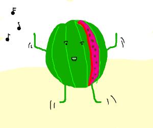 Dancing Watermelon