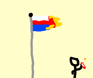russia on fire