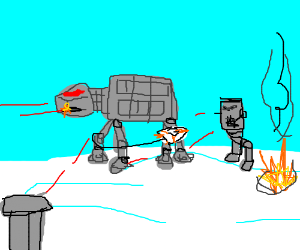 The Battle of Hoth (Empire Strikes Back)
