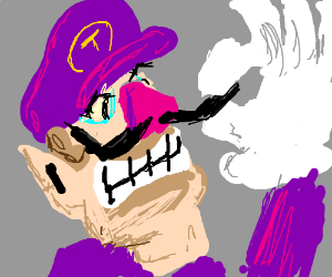 nothing is safe from Waluigi