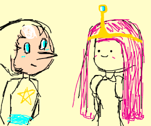 Pearl Hangs Out With Princess Bubblegum