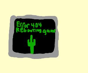 ERR0R 404 REBOOTING GAME
