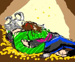 Frisk and Asriel
