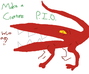 create your own creature pio