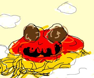flying speggeti monster