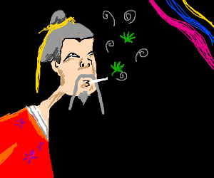 1a2c9ed5898 Chinese Emperor Smoking Weed - Drawception