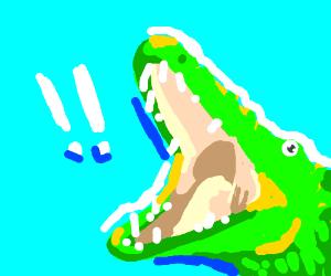Surprised Crocodile