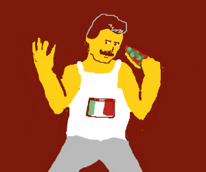 stereotypical italian
